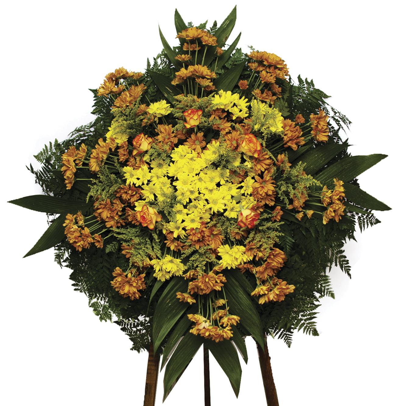 Coroa de Flores Mistas Pequenas