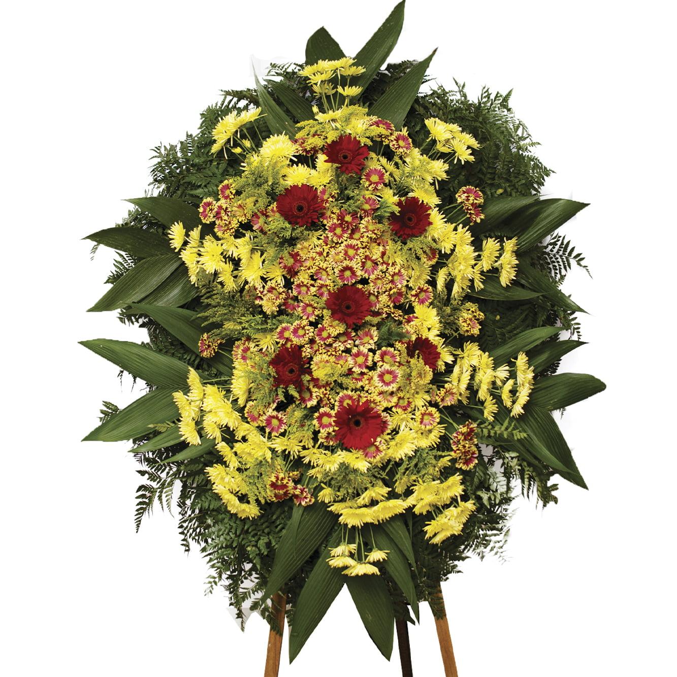 Coroa de Flores Mistas Média