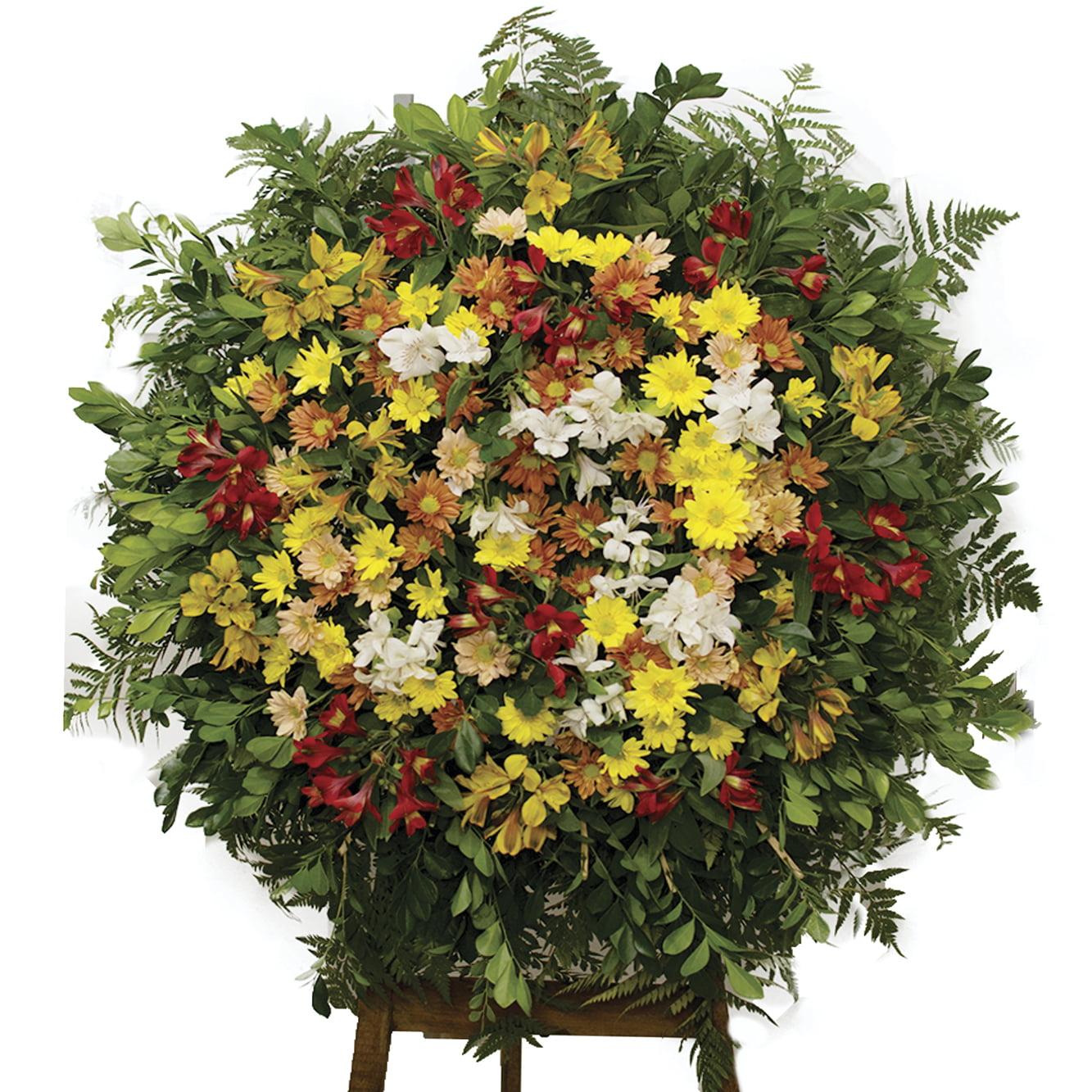 Coroa de Flores Saudades